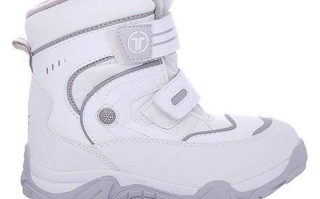 Dámské bílé zimní boty 6166-3WH.G 39