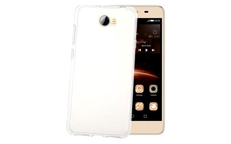 Celly Kryt na mobil Gelskin pro Huawei Y5 II - průhledný