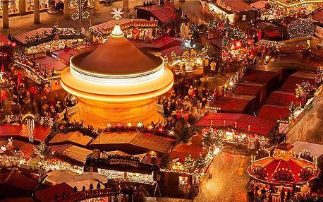 Celodenní adventní zájezd na vánoční trhy do Drážďan s možností prohlídky města pro 1