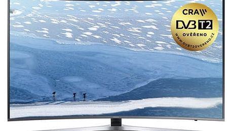 Televize Samsung UE55KU6652 stříbrná