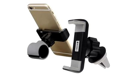 Držák na mobil GoGEN MCH640, univerzální, 2v1 (MCH640) černé/šedé + Doprava zdarma