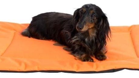 Samohýl exclusive Podložka obdélník nylon Boseň oranžová 90 x 60 cm
