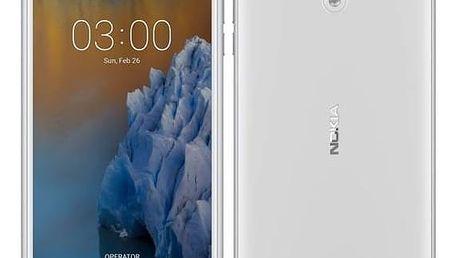 Mobilní telefon Nokia 3 Dual SIM (11NE1S01A14) bílý Software F-Secure SAFE 6 měsíců pro 3 zařízení (zdarma) + Doprava zdarma