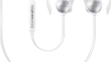Samsung Bluetooth sluchátka Level Active, White - EO-BG930CWEGWW + Samsung externí baterie 2100mAh, white