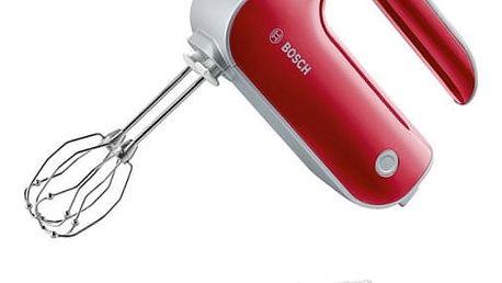 Ruční šlehač Bosch MFQ40303 stříbrný/červený