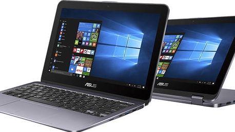 ASUS VivoBook Flip TP203NA, stříbrná - TP203NA-BP027TS
