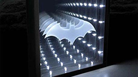 LED Lampa Batman Nekonečné světlo