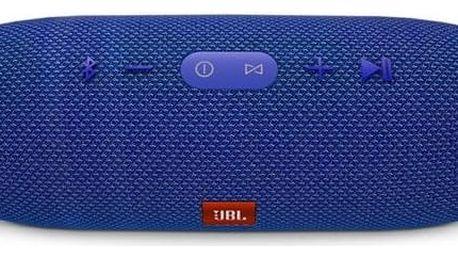 Přenosný reproduktor JBL Charge 3 modrý + Doprava zdarma