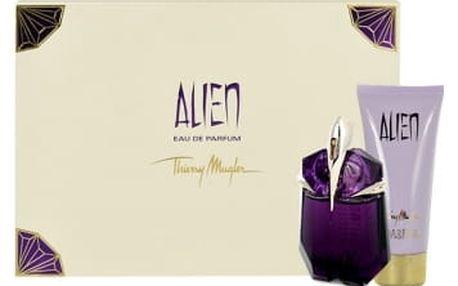 Thierry Mugler Alien dárková kazeta pro ženy parfémovaná voda 60 ml + tělové mléko 100 ml