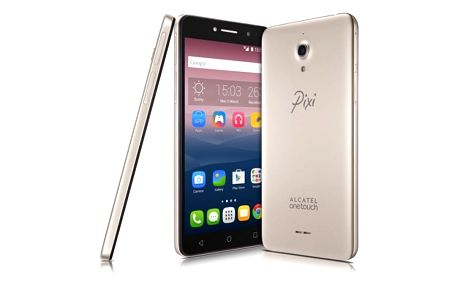 Mobilní telefon ALCATEL PIXI 4 (6) 8050D HD (8050D-2CALE14) zlatý