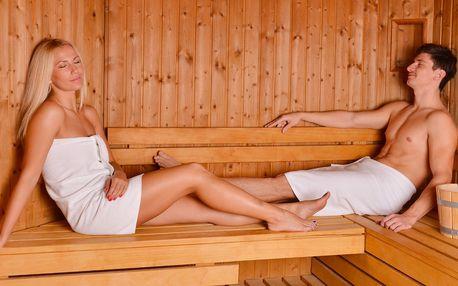90 minut v privátní finské sauně až pro 6 osoby