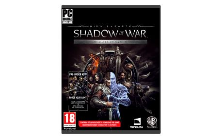 Middle-Earth: Shadow of War - Silver Edition (PC) - PC + Prsten The One Ring + Otvírák Elfské kovářské kladivo