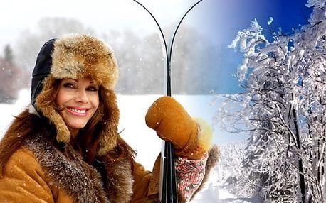 Zimní pobyt pro 1 osobu s polopenzí v penzionu Pastviny. Využití přes vánoce.