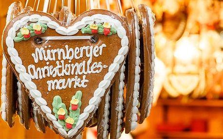 Celodenní zájezd na vánoční trhy do Norimberka s prohlídkou města pro 1 osobu