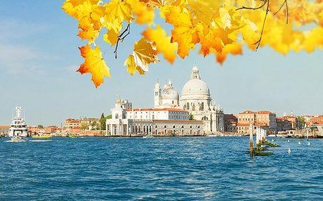 3denní zájezd pro 1 do italských Benátek s prohlídkou města s průvodcem
