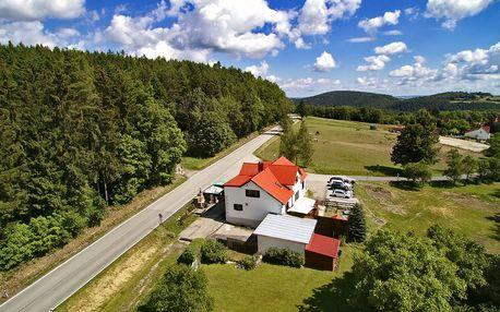 3denní pobyt v jižních Čechách 5 km od Krumlova