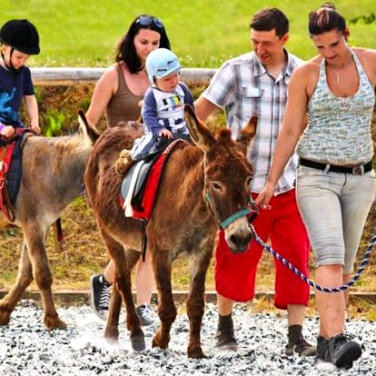 Rodinný pobyt na Farmě Blaník plný zvířátek