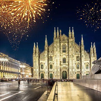 Silvestr v Miláně: prohlídka města a ohňostroj