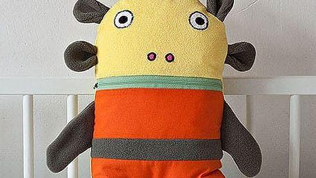 Pyžamožrout Bartex Design, malý, oranžovo/zelený