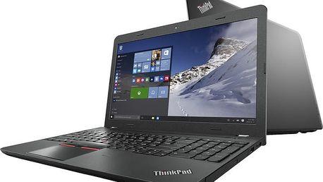 """Lenovo ThinkPad E560, černá - 20EV000QMC + Brašna Lenovo Simple Topload Case 15,6"""" v ceně 449,- Kč"""