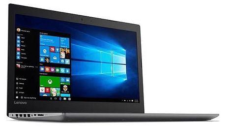 Notebook Lenovo IdeaPad 320-15IKBA (80YE000NCK) černý Software F-Secure SAFE 6 měsíců pro 3 zařízení (zdarma)Monitorovací software Pinya Guard - licence na 6 měsíců (zdarma) + Doprava zdarma