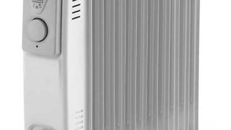 Olejový radiátor ELEM WTRBH2511 bílý + Doprava zdarma