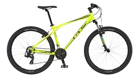 "Horské kolo GT 2016 Aggressor 27,5"" Sport, vel. L - neon yellow/black + Doprava zdarma"