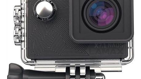 Outdoorová kamera Lamax X7.1 Naos + dárek, černá + Doprava zdarma