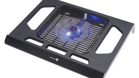 """Chladící podložka pro notebooky Connect IT Breeze pro 17"""" (CI-438) černá"""