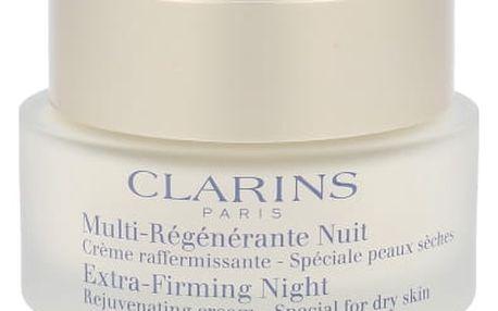 Clarins Extra Firming Rejuvenating Cream 50 ml noční pleťový krém proti vráskám pro ženy