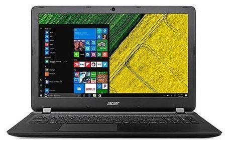 Notebook Acer Aspire ES 15 (ES1-533-P8T4) (NX.GFTEC.009) černý Software F-Secure SAFE 6 měsíců pro 3 zařízení (zdarma)Monitorovací software Pinya Guard - licence na 6 měsíců (zdarma) + Doprava zdarma