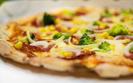 Až 3 křupavé pizzy s sebou nebo k snědku hned