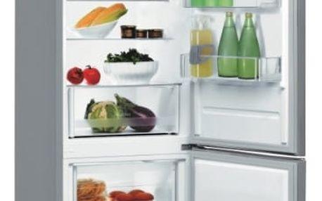 Kombinace chladničky s mrazničkou Indesit LR6 S2 X nerez