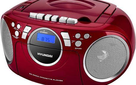 Hyundai TRC 788 AU3RS, červená/stříbrná - HYUTRC788AU3RS