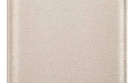 Pouzdro na mobil flipové Samsung pro Galaxy J5 2016 (EF-WJ510P) (EF-WJ510PFEGWW) zlaté