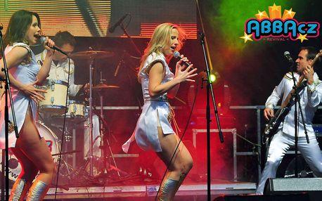 ABBA revival - velkolepý koncert světově známé skupiny ABBACZ