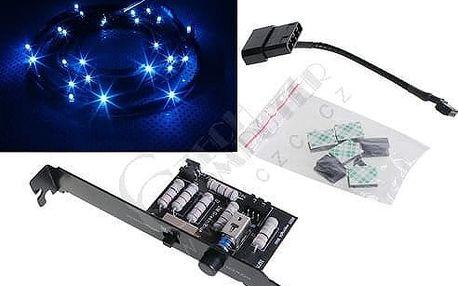 NZXT osvětlení 12x Blue LED Sleeve, 1m - CB-LED10-BU