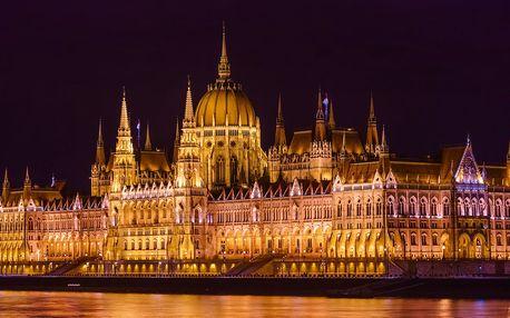 Hotel v Budapešti s jídlem a neomezeným wellness