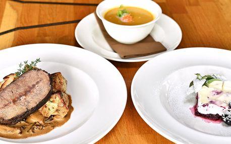 Degustační menu a vstup na Žižkovskou věž