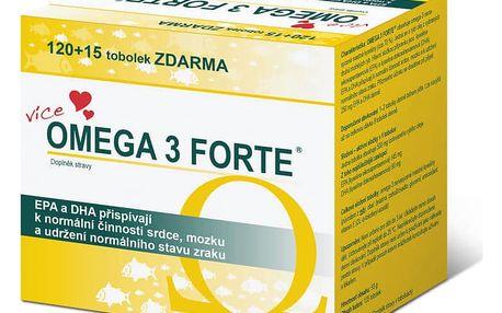 SVUS Omega 3 FORTE 120 + 15 tobolek limitovaná edice 2015