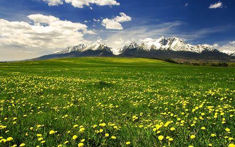 Vysoké Tatry se snídaní a hydromasáží