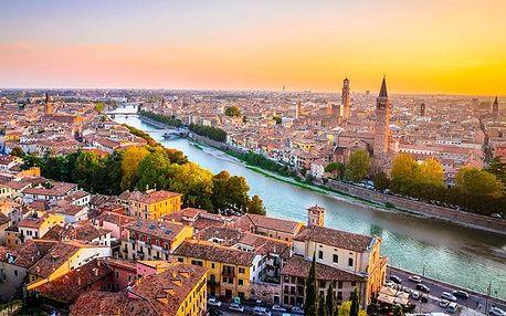 4denní zájezd pro 1 do italské Verony a Benátek s prohlídkou města s průvodcem