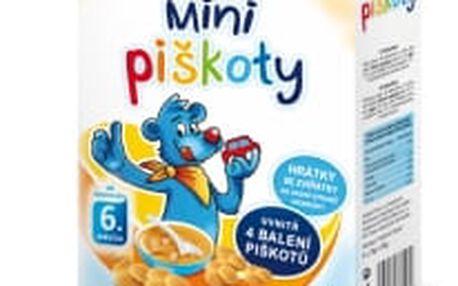 12x HAMÁNEK Dětské minipiškoty (96 g)