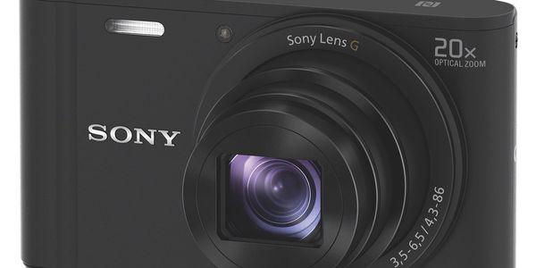 Digitální fotoaparát Sony Cyber-shot DSC-WX350 černý + DOPRAVA ZDARMA2