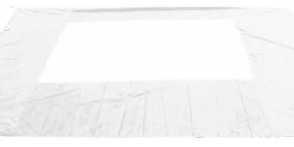 Garthen PROFI 431 Sada 2 bočních stěn pro zahradní altán 3 x 3 m - bílá2