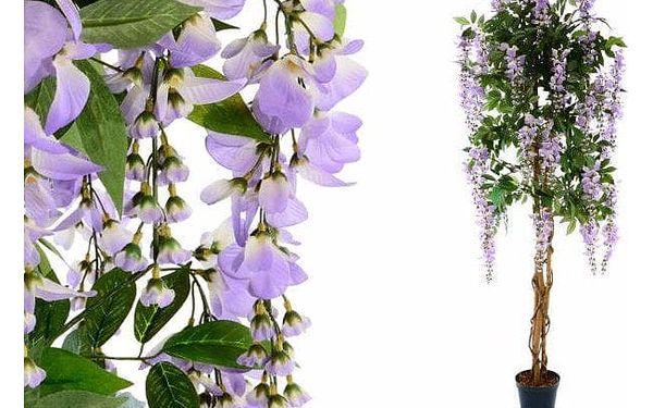 Garthen 148 Umělá květina - vistárie strom fialová - 180 cm