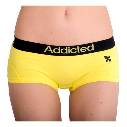 Dámské Kalhotky Addicted Žlutá M