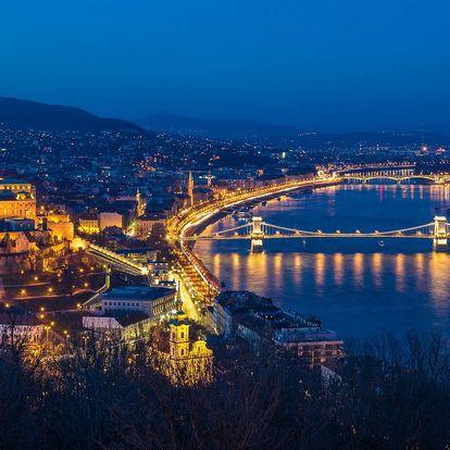 Wellness pobyt v podzimní či zimní Budapešti