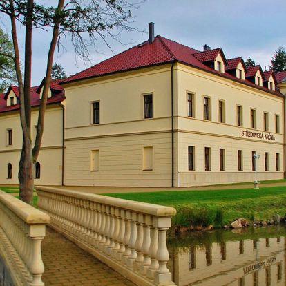Podzim na zámku s All inclusive a wellness