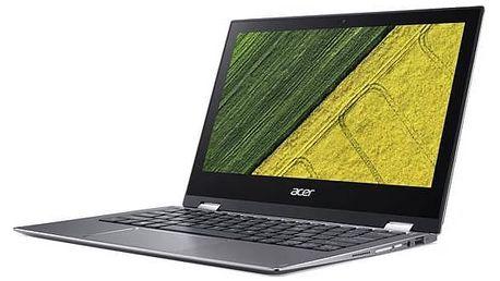 Notebook Acer Spin 1 (SP111-32N-P6V8) + stylus (NX.GRMEC.002) šedý Software F-Secure SAFE 6 měsíců pro 3 zařízení (zdarma)Monitorovací software Pinya Guard - licence na 6 měsíců (zdarma) + Doprava zdarma
